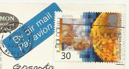UK , Scanning Electron Microscopy , Used Air Mail 1994 - Fabbriche E Imprese