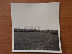 PONT SUR SAMBRE  WW2 SOLDATS ALLEMANDS ET OFFICIERS REUNION DES TROUPES 1941 SCANS - Frankreich