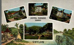SRI LANKA. CEYLON. HOTEL SUISSE. KANDY - Sri Lanka (Ceilán)