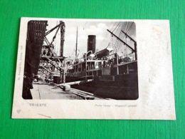 Cartolina Trieste - Punto Franco - Magazzini Generali 1902 - Trieste