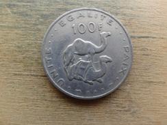 Djibouti  100  Francs  1991  Km 26 - Djibouti