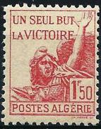 Algeria 1943 - For Victory ( Mi 196 - YT 198 ) MNH** - Algeria (1924-1962)