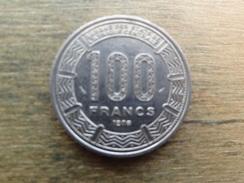 Cameroun  100  Francs  1986  Km 17 - Cameroon