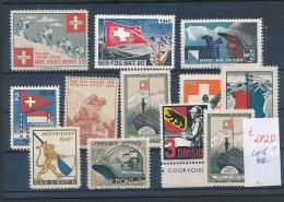 Schweiz -Lot Soldaten Marken      (t2820  ) Siehe Bild ! - Soldaten Briefmarken