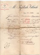 """Austria - Villach - Lettera Della Ditta """" M. Pufitsch """"  Datata  30 Ottobre 1899 - (FDC4982) - Austria"""