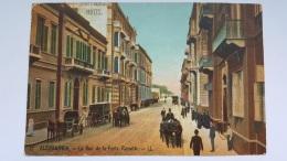 ALEXANDRIA Virginie Etats Unis Rue Porte Rossette CPA Postcard Animee - Ansichtskarten