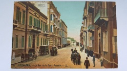 ALEXANDRIA Virginie Etats Unis Rue Porte Rossette CPA Postcard Animee - Cartes Postales