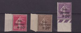 FRANCE : N° 266/68 . ** LUXE . BDF . CAISSE D' AMORTISSEMENT . TYPE SEMEUSE . 1930 . - 1921-1960: Periodo Moderno