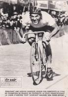 CYCLISME :  PIEL Champion De France De Poursuite  En 1946 - Radsport
