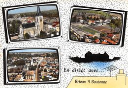 79-BRIOUX-SUR-BOUTONNE- MULTIVUES - Brioux Sur Boutonne