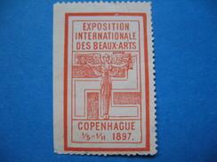 Vignette ; Exposition Internationale Des Beaux Arts Copenhague 1897( à Voir) - Cinderellas