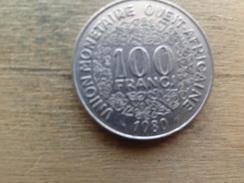 West Africa  100  Francs  1980  Km 4 - Autres – Afrique