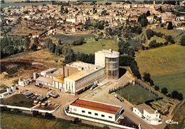 79-CHAMPDENIERS- VUE GENERALE AERIENNE AU 1ER PLAN , L'USINE DE L'UNION LAITIERE DES D-SEVRES - Champdeniers Saint Denis