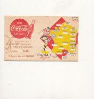 13 // MARSEILLE / PUBLICITE COCA COLA STE PROVENCALE DES BOISSONS GAZEUSE / CALENDRIER SAISON FOOT 1953/1954 / Systeme - Programs