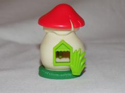 Collectible Kinder Surprise Toy Mushroom House - Kinder & Diddl
