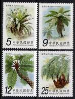 TAIWAN 2009 - Arbres, Palmiers  - 4 Val Neuf // Mnh - 1945-... République De Chine