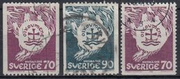 SUECIA 1968 Nº 595/96 + 595a USADO - Sweden