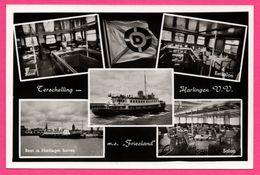 Harlingen V.V. - Multivues - Friesland - Boot In Harlinger Haven - Restauratie - Terschelling - BAKK - VAN LEER'S - Harlingen
