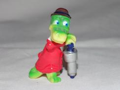 Collectible Kinder Surprise Toy Crocodile - Cartoons