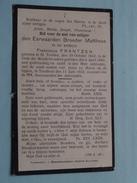DP Eerwaarden Broeder MATTHEUS ( Franciscus FRANTZEN ) St. Truiden 29 Oct 1842 - Turnhout 11 Juni 1912 ! - Décès
