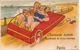 PARIS - Carte à Système  - Charmante Balade, Soulevez Et Vous Verrez - France