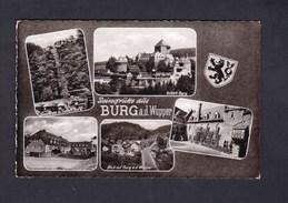 AK Reisegrusse Aus Burg A.d. Wupper ( Multivues Cramers Kunstanstalt KG) - Solingen