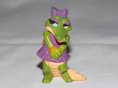 Collectible Kinder Surprise Toy Crocodile - Familles