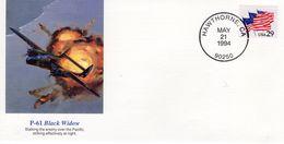 US FDC  -  Northrop P-61 'Black Widow'  - Enveloppe 1e Jour - Avions