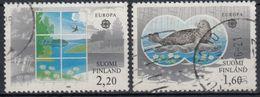 FINLANDIA 1986 Nº 949/50 USADO - Gebraucht