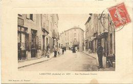 07. LAMASTRE.   RUE FERDINAND CHARRAS CPAA AN 1912. - Lamastre