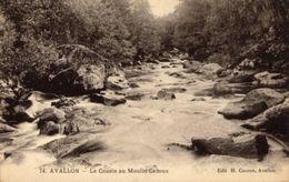 AVALLON  -  Le Cousin Au Moulin Cadoux - Neuve - Edit H. Couron - Avallon