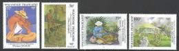 """Polynésie YT 494 à 497 """" Artistes Peintres En Polynésie """" 1995 Neuf** - French Polynesia"""