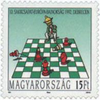 Ref. 30487 * NEW *  - HUNGARY . 1992. 10th EUROPEAN CHESS CHAMPIONSHIP. 10 CAMPEONATO DE EUROPA DE AJEDREZ - Hungría