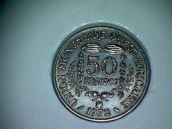 Afrique De L'Ouest 50 Francs 1972 - Monnaies