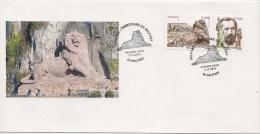 Enveloppe  1er Jour Timbre France N° 4697 ** Belfort - Lion De Belfort  Auguste Bartholdi - 2010-....