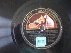 78T - Psyché Poeme Symphonique Par Orchestre Sous Direction Piero Coppola Disque Brisé - 78 Rpm - Schellackplatten