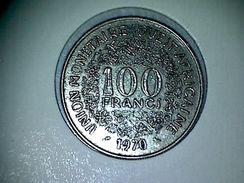 Afrique De L'Ouest 100 Francs 1970 - Monnaies