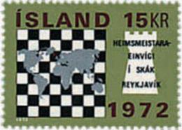 Ref. 30646 * NEW *  - ICELAND . 1972. INTERNATIONAL CHESS CHAMPIONSHIP. CAMPEONATO INTERNACIONAL DE AJEDREZ - 1944-... Republic