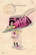 SAGER Xavier, Illustrateur La Dernière Mode, Chapeau Parapluie, Sans Nom D'éditeur, N 140 - Sager, Xavier