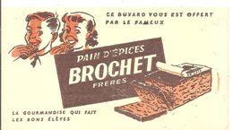 Buvard BROCHET Pain D'Epices BROCHET Frères La Gourmandise Qui Fait Les Bon éléves - Peperkoeken