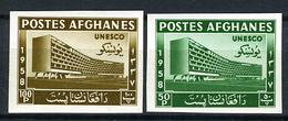 1958 - AFGANISTAN - Mi. 475B/476B - NH - ( **) - (FR7590/3540.5) - Afghanistan
