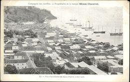 MARTINIQUE - Compagnie Des Antilles - Pub RHUM CHAUVET - Saint-Pierre - Martinique