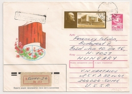 SUMY Registered  Cover To HUNGARY. - Covers & Documents