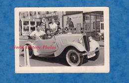 Photo Ancienne - KNOKKE HEIST ? - Auto à Identifier - Voir Calandre - Cabriolet / Décapotable - Patisserie Wullus - Automobiles