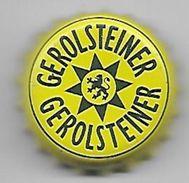 8 / ALLEMAGNE / CAPSULE EAU MINERALE GEROLSTEINER FOND JAUNE - Soda