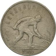Luxembourg, Charlotte, Franc, 1960, SPL, Copper-nickel, KM:46.2 - Luxembourg