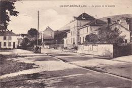 CPA - Sault-Brénaz (Ain) : La Poste Et La Mairie - Frankrijk