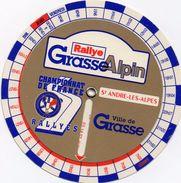 Course Automobile Tacot Programme Disque Rallye Grasse Alpin Saint André Les Alpes - Automobilismo - F1