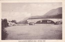 CPA - Pont De Sault-Brénaz (Ain) : 19 Juin 1940 - Andere Gemeenten