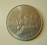 Mexico 1 Peso 1980 - México